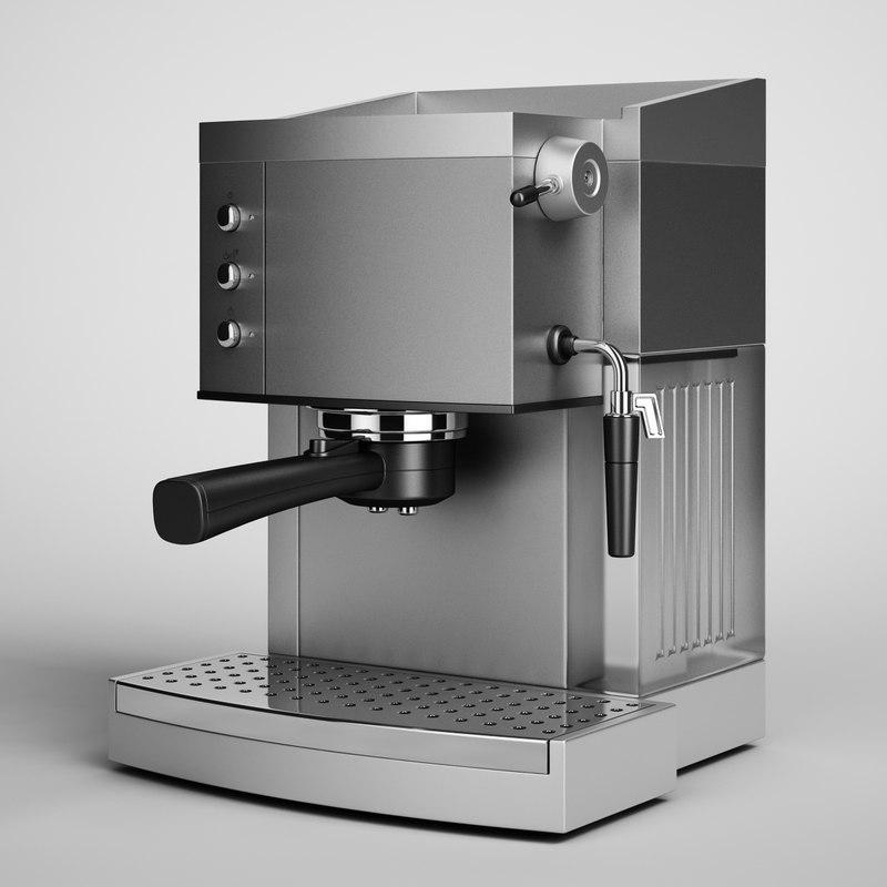 3d coffee maker 05
