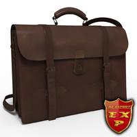 3d case briefcase