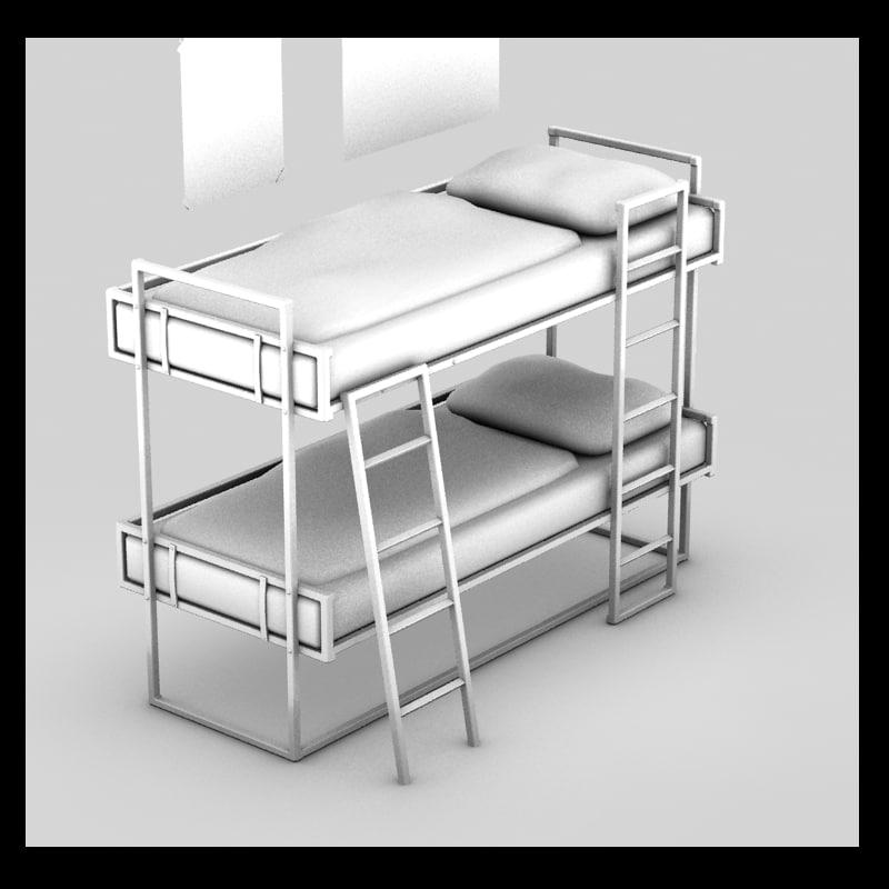 3d submarine bed