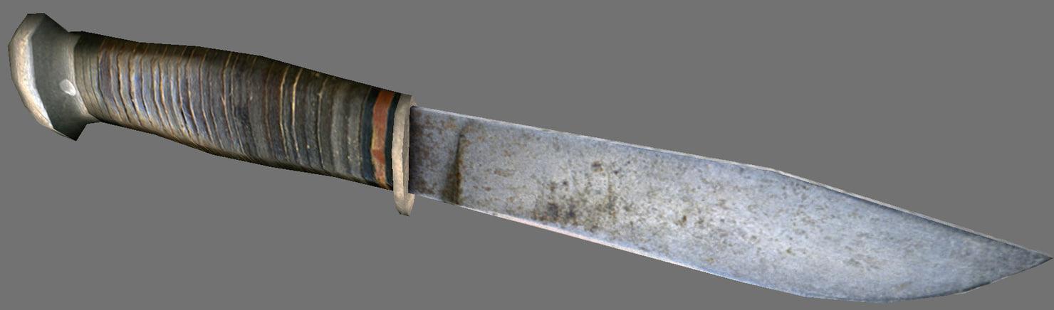obj knife