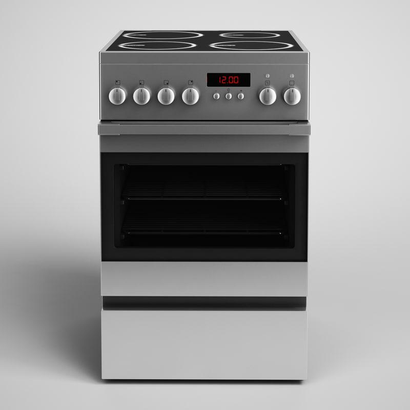 oven 15 3d model