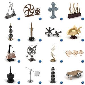 max object decorative
