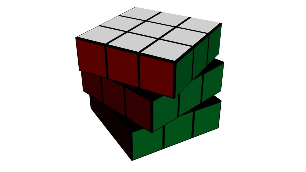 rubik cube 3ds