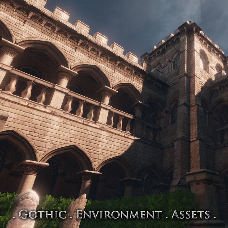 maya modular assets