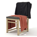 Clothes on a chair