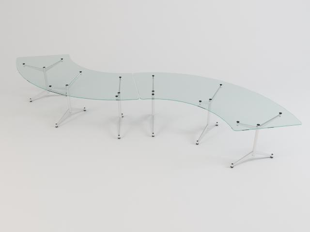 glass table 06 3d model