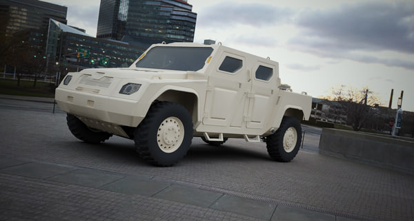armored scorpion wd-2011 3d max