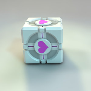 free c4d mode use companion cube portal