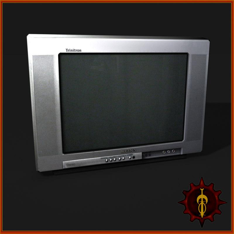 3d model of tv