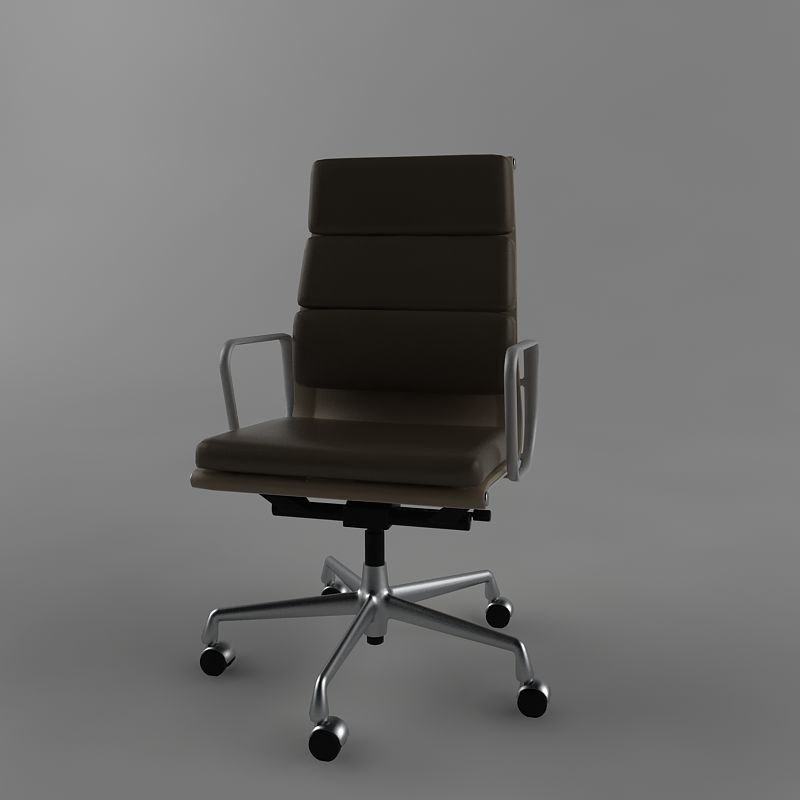 3d vitra office seat model