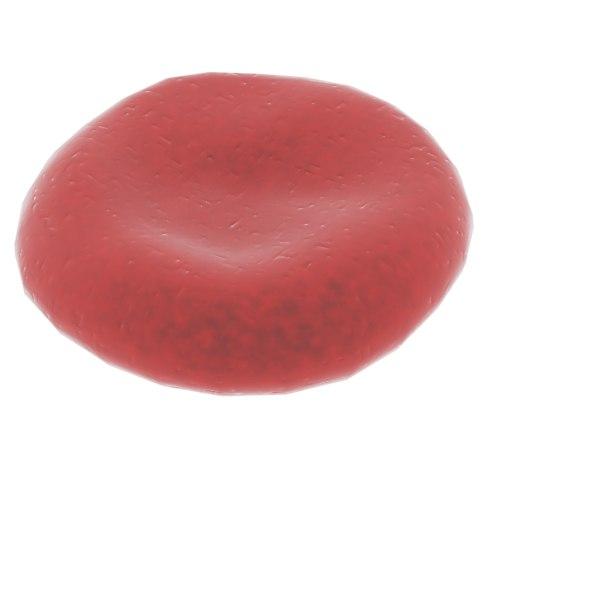 free blood cell pod 3d model
