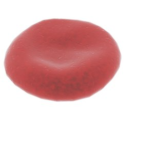 free blood cell pod 3d model