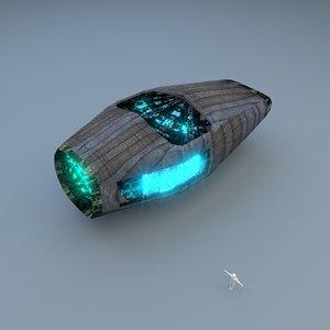 maya stardrive spaceship engine