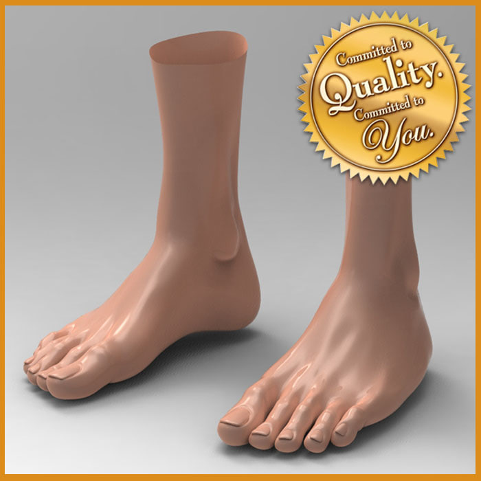 female feet 3d 3ds