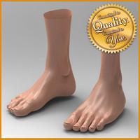 female feet 3d 3ds