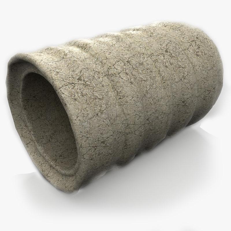 3ds concrete tube