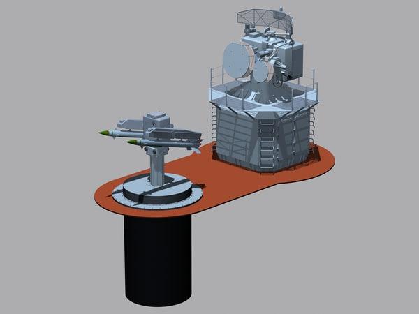 3ds max osa-ma missile