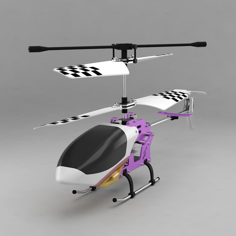 3d radio helicopter