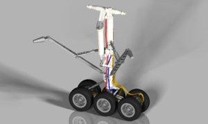3d model landing gear wheel aircraft
