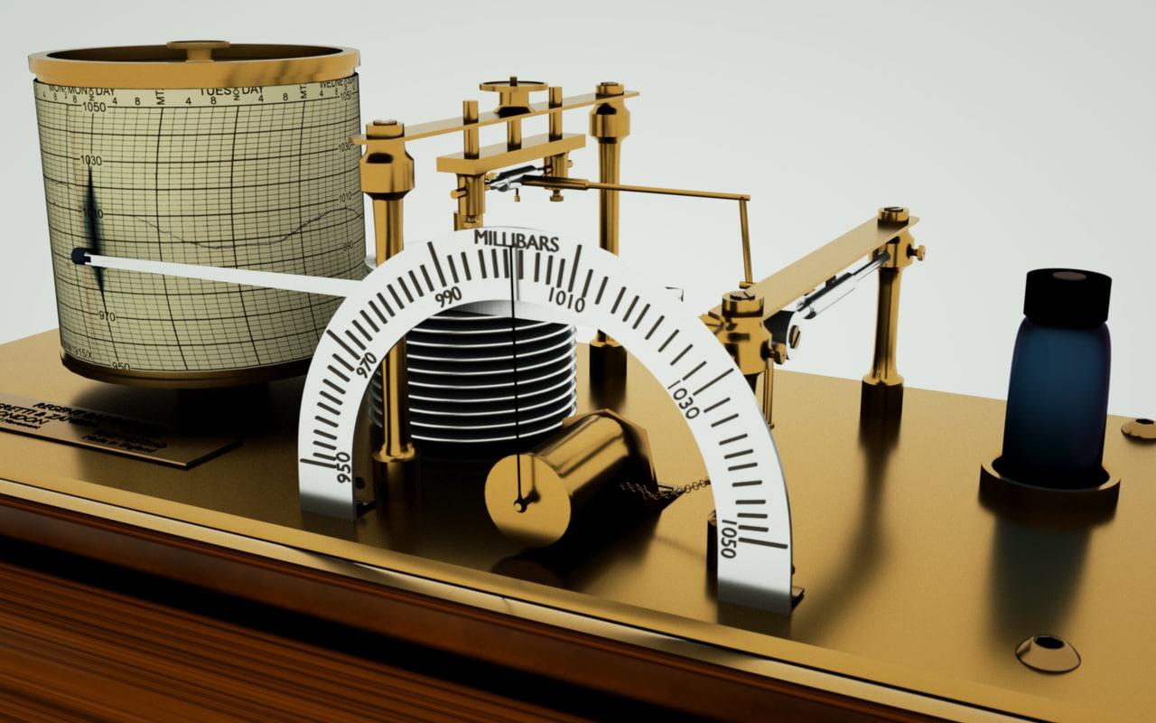 maya barograph pressure office
