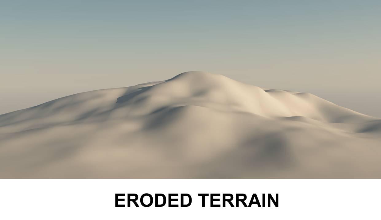 3d model landscape surface earth