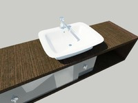 Modern Sink And Support