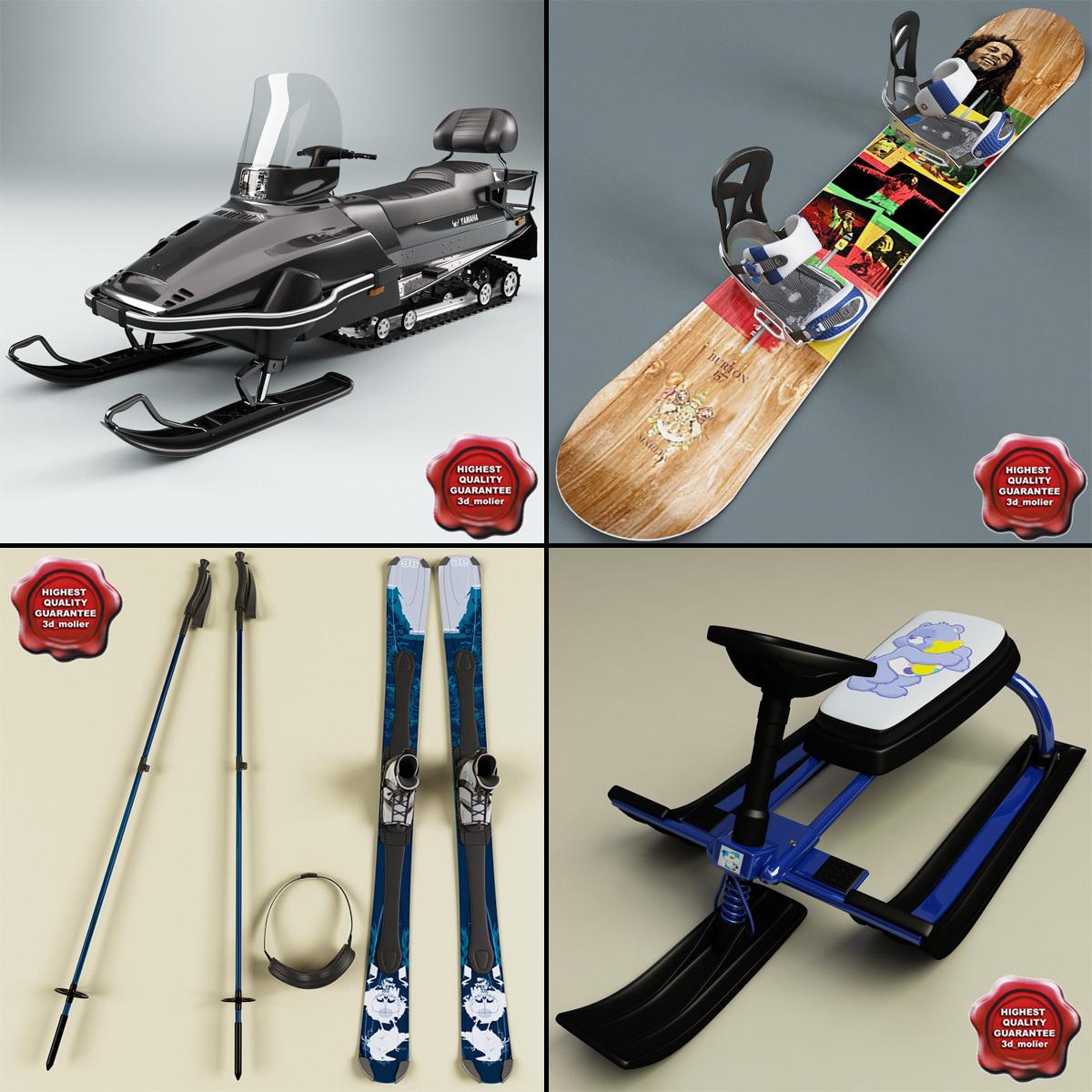 3d snow equipment