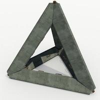 max barriers - concrete tetraeder