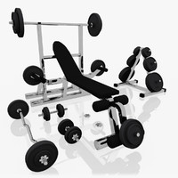 Workout Bench Set