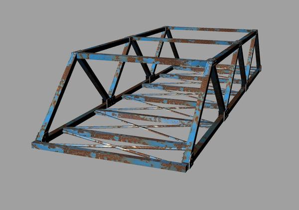 steel bridge 3ds