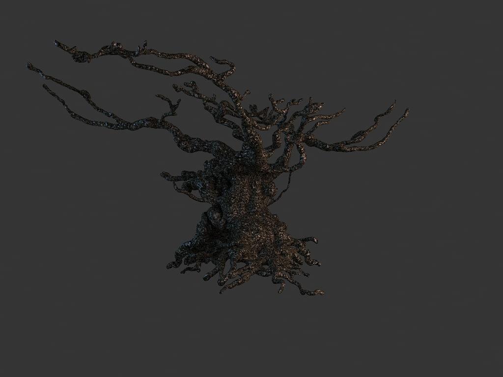 max scary gnarled tree