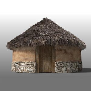 maya iron age house