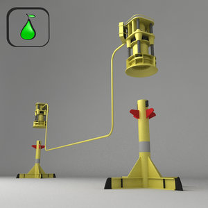 3d sub sea jumper systems model