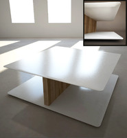 3d dxf coffee table sabana