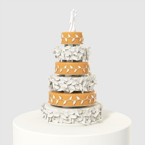 maya wedding cake