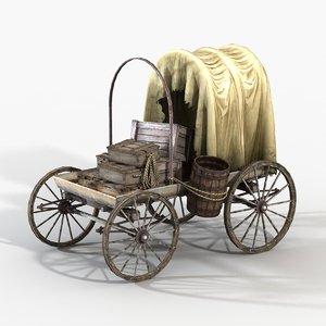3d port cart model