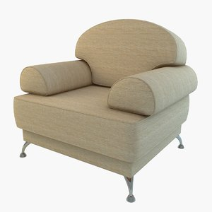 3d model sabina 1n sofa