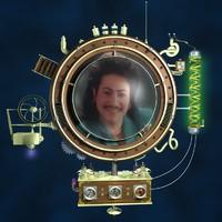 steampunk portal 3d c4d