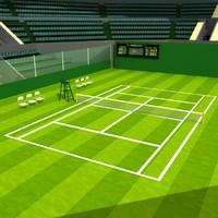 Wimbledon Tennis Stadium