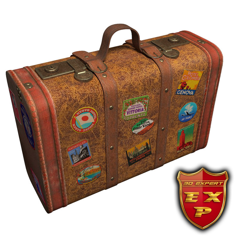 old suitcase 3ds
