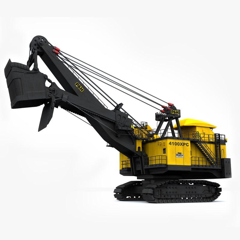 3d model p h 4100xpc mining