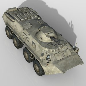 3d model personnel carrier apc