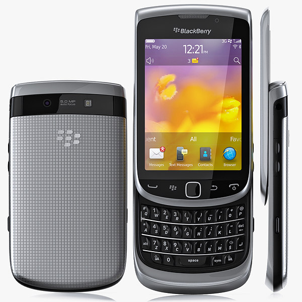 3d copy blackberry 9810 torch model