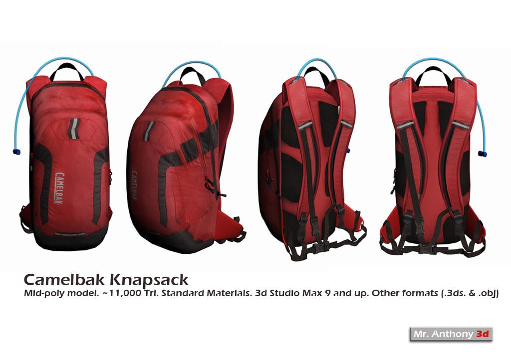 bag knapsack 3ds