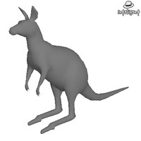 Low Poly Kangaroo