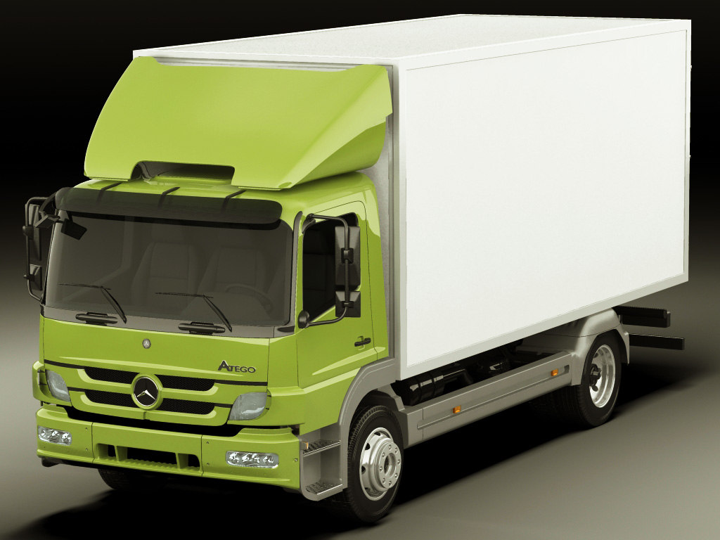 3d mercedes atego model