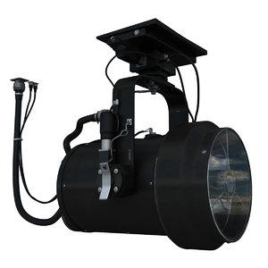 spectrolab sx-16 nightsun light 3d 3ds