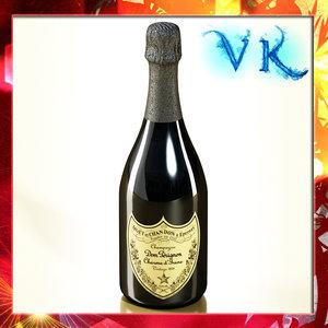 maya dom perignon champagne bottle