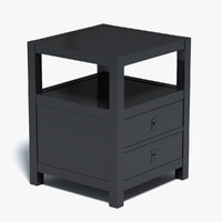 table end night 3d model