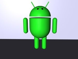 3d android model